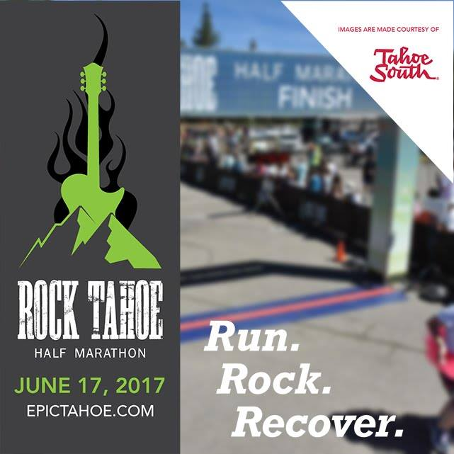 I ran my first half marathon June 17, 2017 Rock Tahoe