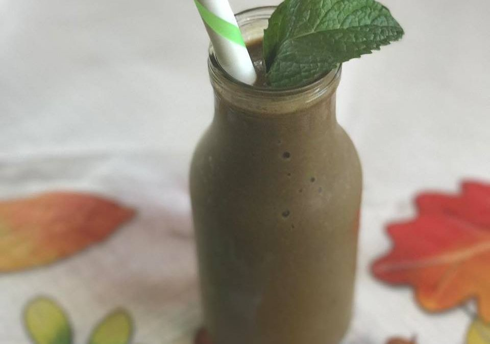 Mint Chocolate Green Smoothie
